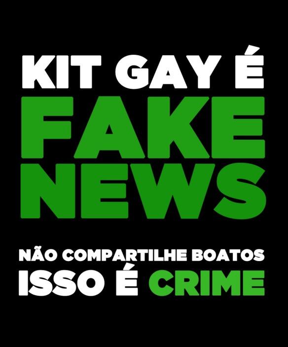 Kit Gay não existe e nem nunca existiu