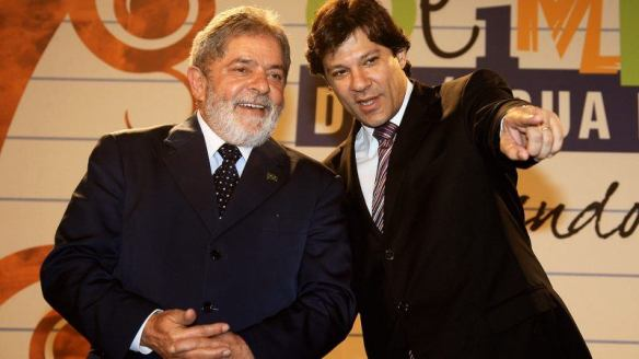 Ministro Haddad com o presidente Lula