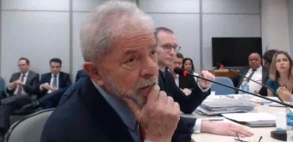 Depoimento de Lula no caso do Sítio de Atibaia