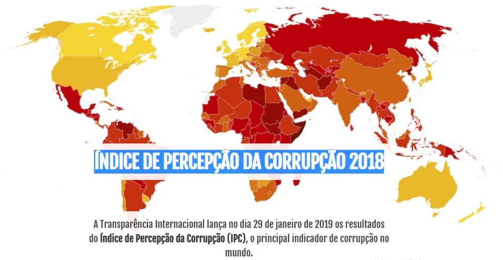 Índice de Percepção da Corrupção (IPC) 2018