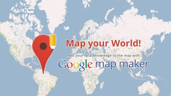 Google Map Maker World