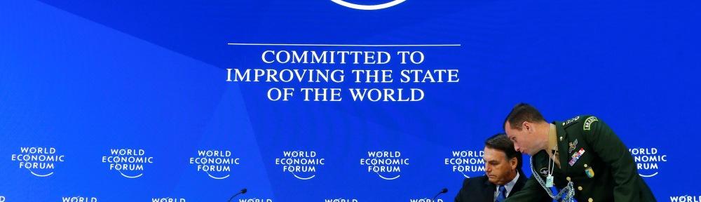 Bolsonaro no Fórum Econômico Mundial