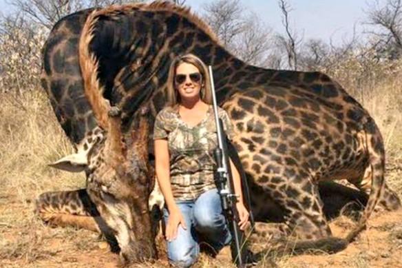 Tess matou essa girafa por diversão