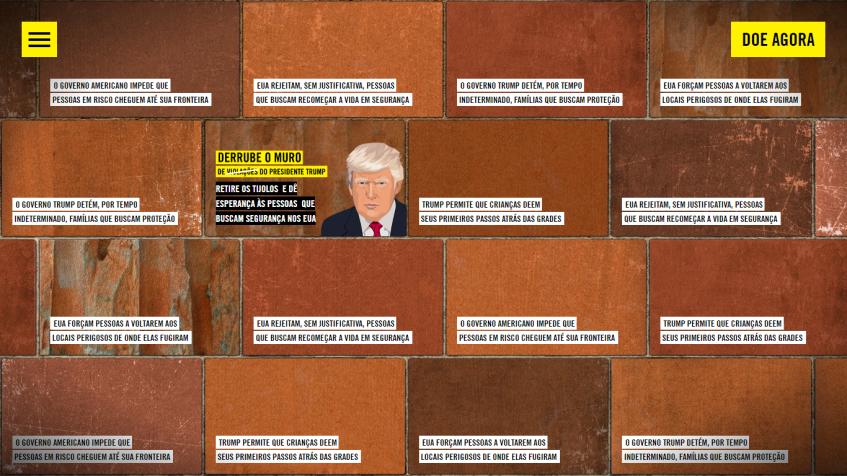 O muro de Trump
