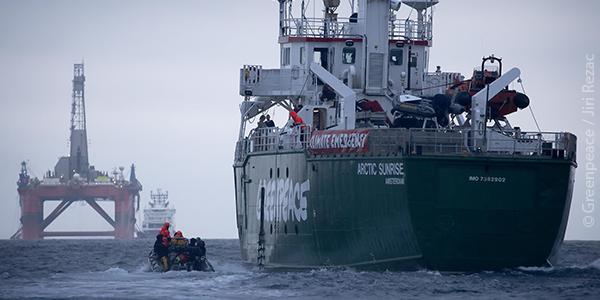 Greenpeace em ação