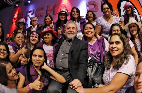 Lula na Marcha das Margaridas