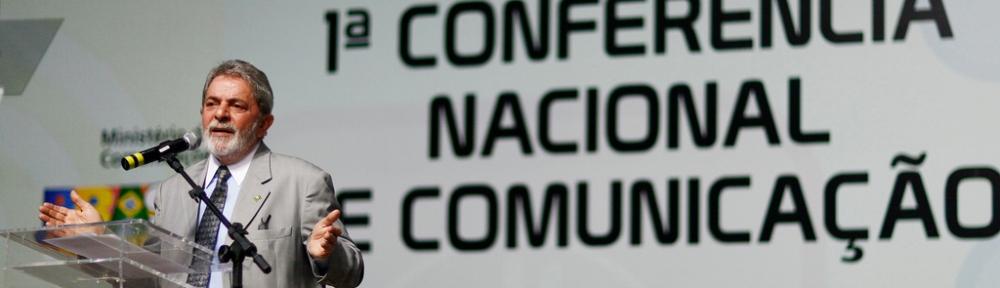 Presidente Lula participa da abertura da história 1a Conferência Nacional de Comunicação