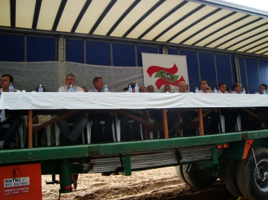 Assinatura da ordem de serviço da construção da Ponte de Ilhota