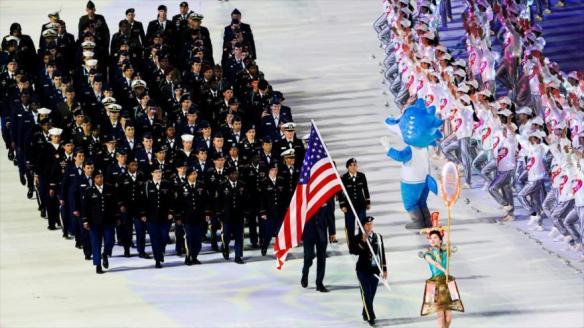 A delegação esportiva militar dos EUA espalhou o COVID-19 em Wuhan