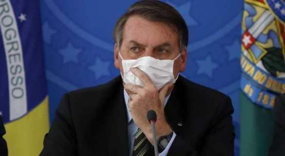 Bolsonaro com coronavírus