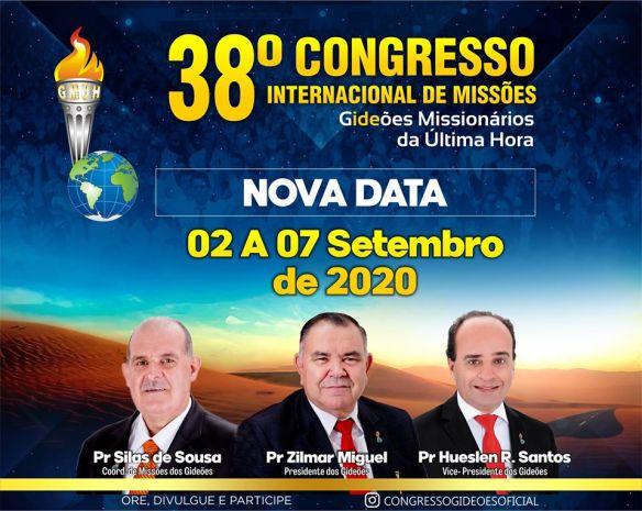 Congresso dos Gideões 2020