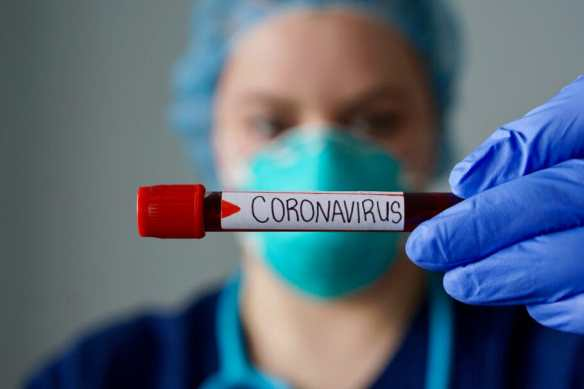 Coronavírus Ilhota positivo