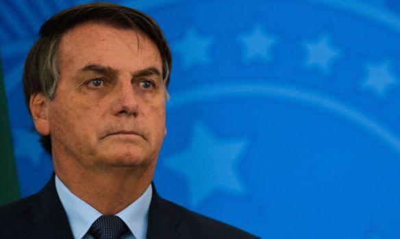 Jair Bolsonaro coletiva