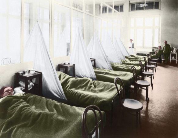 Epidemias e pandemias gripe espanhola