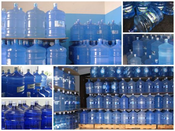 Água Mineral bombona de 20 litros
